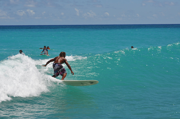 2015 08 20 Surfing at Surfer Point Junior 1
